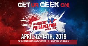MRG at The Great Philadelphia Comic-Con This Weekend