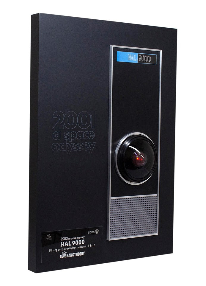 Screen Used on The Big Bang Theory HAL 9000 Prototype Auction!
