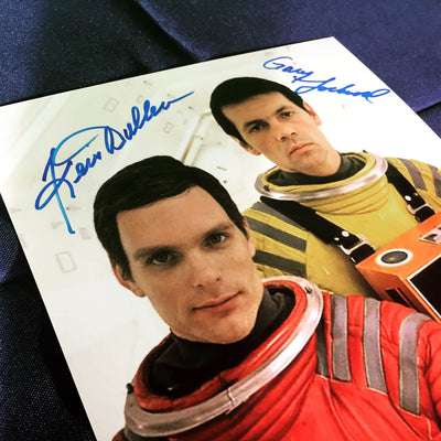 Dual Autographed 2001: A Space Odyssey Photos (Ltd. to 145)