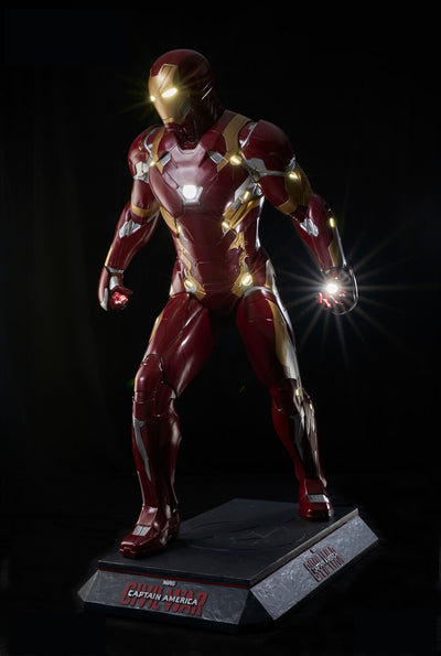 CAPTAIN AMERICA: CIVIL WAR - IRON MAN LIFE-SIZE STATUE
