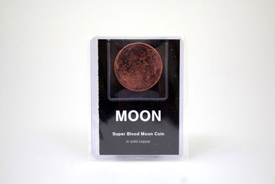 Super Blood Moon Copper Coin
