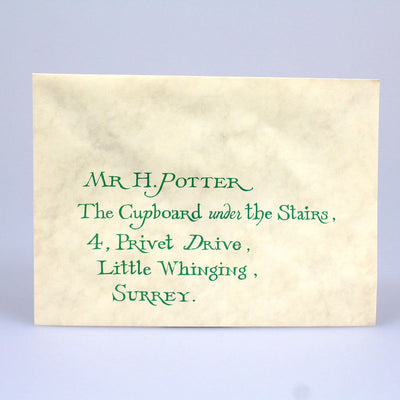 Harry Potter and the Sorcerer's Stone (2001) Hogwarts Invitation Envelope (ScreenUsed)
