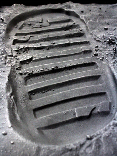 """One Small Step"" (Apollo 11 Boot Print Replica)"