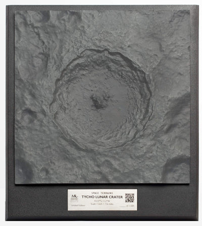Space Terrains: Tycho Lunar Crater - Buy One Get One Free!