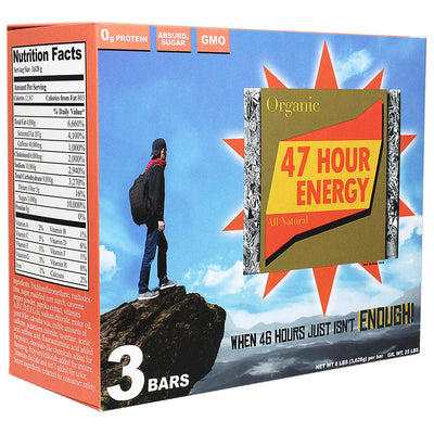 truTV Officially Licensed Impractical Jokers Gift Box -47 Hour Energy Bar