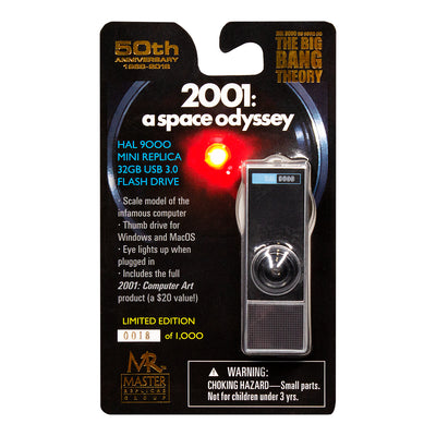 2001 A Space Odyssey HAL 9000 USB Flash Drive Collectible and Replica Limited Edition