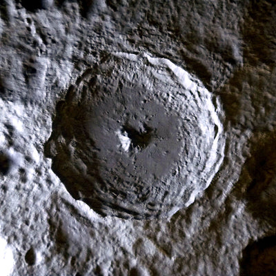 Space Terrains: Tycho Lunar Crater