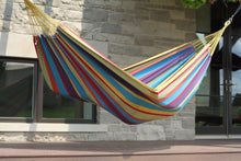 Load image into Gallery viewer, Brazilian Deluxe Double Hammock Tropical