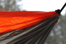 Load image into Gallery viewer, Nylon Parachute Camping Hammock Grey/Orange