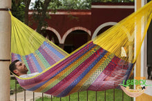 Load image into Gallery viewer, Nylon Hammock King Confeti