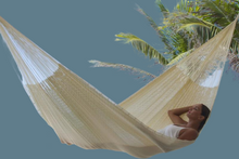 Load image into Gallery viewer, Nylon Hammock King Cream