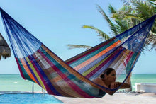 Load image into Gallery viewer, Nylon Hammock King Mexicana