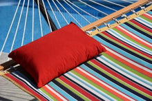 Load image into Gallery viewer, Throw Pillow for Hammock - Cherry Red