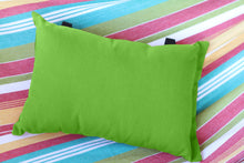 Load image into Gallery viewer, Throw Pillow for Hammock - Green Apple