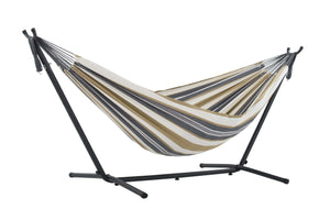 Universal Hammock Stand with Double Hammock Desert Moon