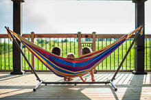 Load image into Gallery viewer, Universal Hammock Stand with Double Hammock Tropical