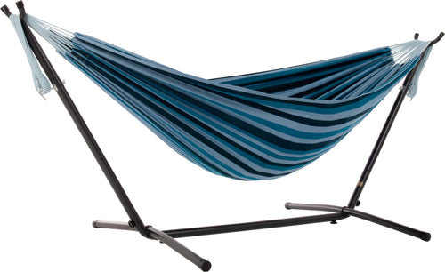 Universal Hammock Stand with Double Hammock Blue Lagoon