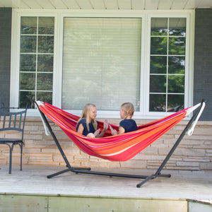Universal Hammock Stand with Double Hammock Mimosa