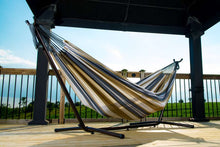 Load image into Gallery viewer, Universal Hammock Stand with Double Hammock Desert Moon