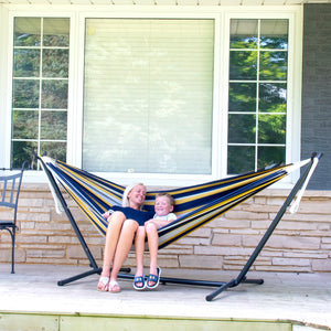 Universal Hammock Stand with Double Hammock Serenity