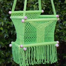 Load image into Gallery viewer, Baby Swing Chair Pistacchio Green