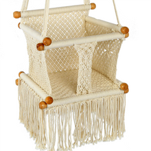 Load image into Gallery viewer, Baby Swing Chair Natural