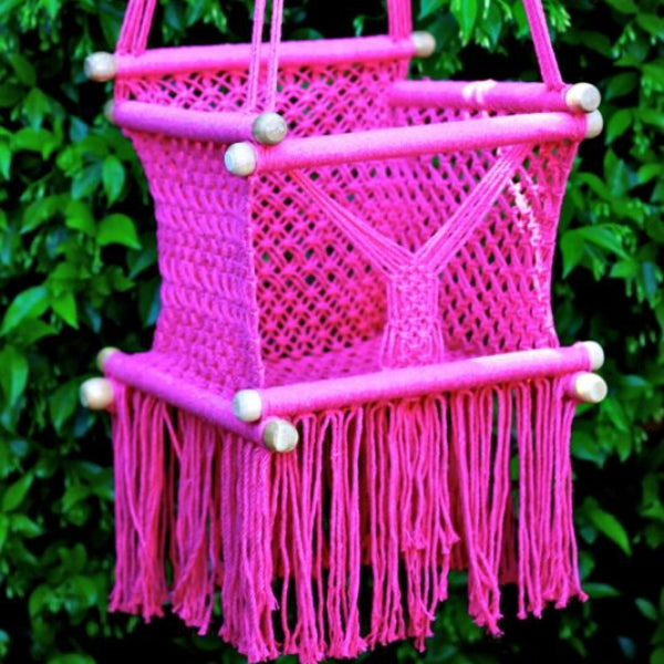 Baby Swing Chair Pink