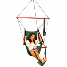 Load image into Gallery viewer, All Weather Canvas Hammock Chair Green