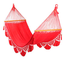 Load image into Gallery viewer, Large hammock Red