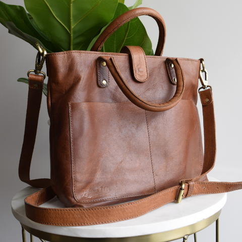 Eleven10Leather Heights Tote Bag