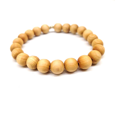 aromatic sandalwood stretch bracelet