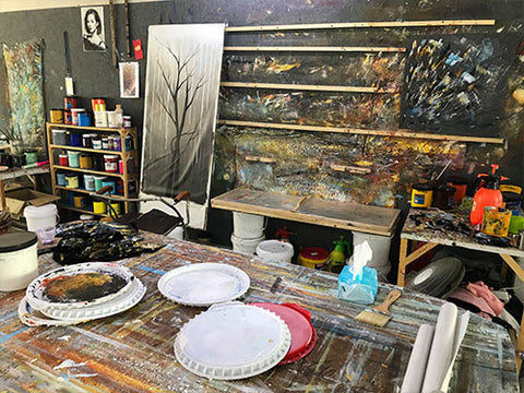 Asdam Art Painting Studio Enviroment