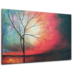 24*36inch Save $19 ($56.99 on Amazon)Abstract Oil Painting Framed Ready to Hang (Only for US)
