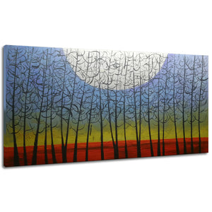 24*48inch Save $24 ($81.99 on Amazon) Abstract Canvas Paintings Framed Ready to Hang (Only for US)