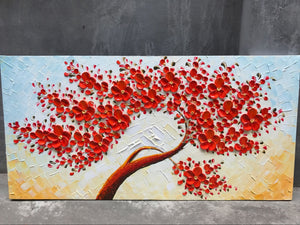 20*40inch Save $7 ($49.99 on Amazon) Overstock Art Red Flower Tree Framed Ready to Hang (Only for US)