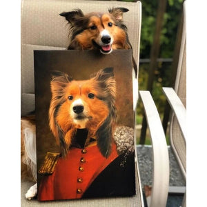 Prince Custom Pet Canvas with Framed Ready to Hang
