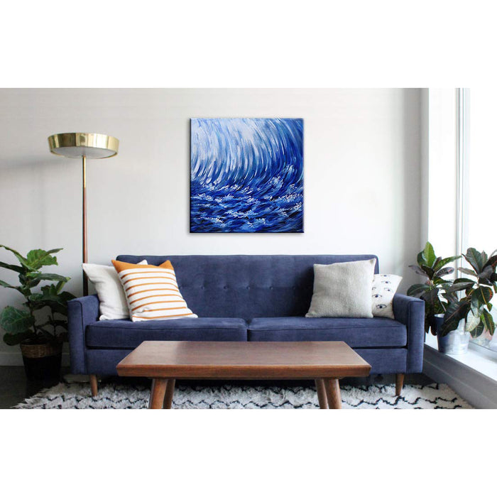32*32inch Save $26 ($75.99 on Amazon) Art Deco Oil Paintings Framed Ready to Hang (Only for US)