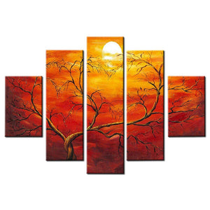 50*32inch Save $28 ($79.99 on Amazon) Oil Painting Framed Ready to Hang (Only for US)