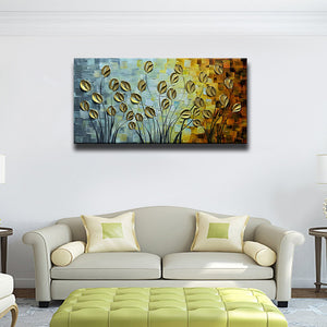 Asdamart Budding Flowers 100% Hand-Painted 3D Abstract Art Floral paintings(Promotion discount)