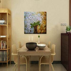 AsdamArt Handpainted oil paintings Modern Wall Art 3D Abstract Pictures