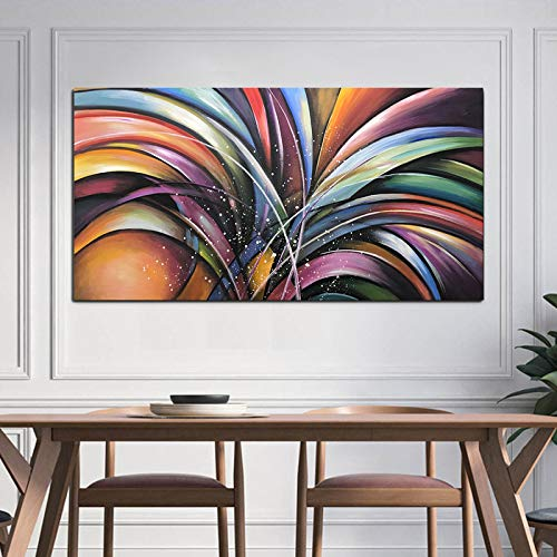 Colorful Art Paintings Abstract Modern Handmade Artwork Decor Home Wall