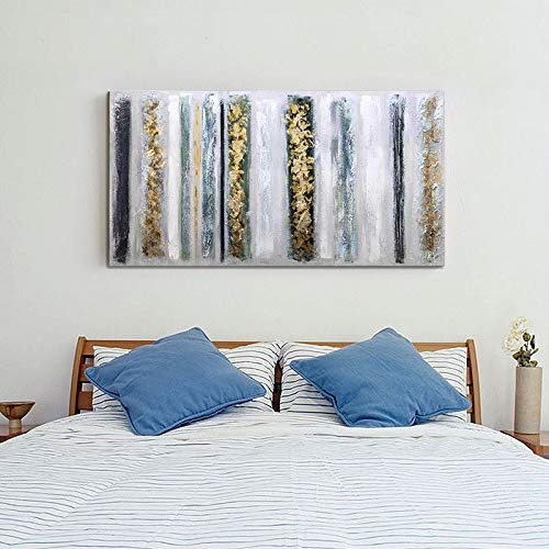 Extra Large Wall Paintings Abstract Vertical Stripes Canvas Art Decor Bedroom