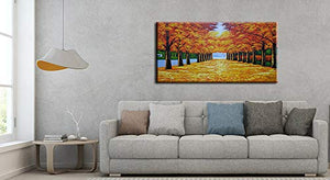 24*48inch Save $26 ($75.99 on Amazon) Beautiful Art Paintings Framed Ready to Hang (Only for US)