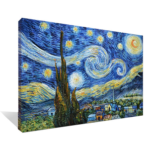 Asdam Art Famouse paintings Vincent Van Gogh Work Abstract Oil Paintings Modern Home Wall Art
