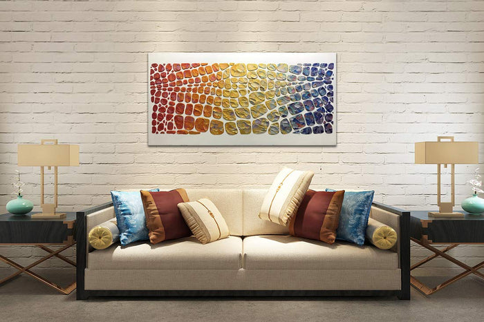 Original Oil Paintings on Canvas Abstract Thick Oil Model Hand Painted