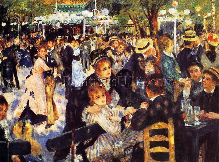 Impressionism Art Decor  Dance at the Moulin de la Galette