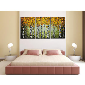 Bedroom Wall Art Clear Texture Thick Oil Waterproof 100 Years No Fade