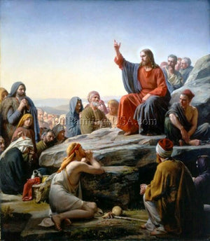 Buy Religious Artwork Carl Heinrich Bloch The Sermon on the Mount