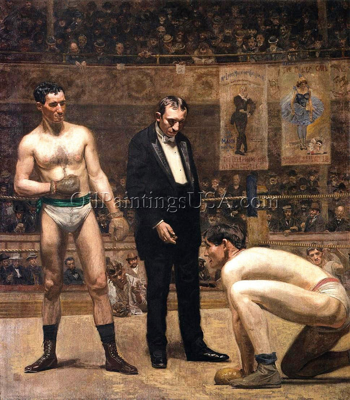 Buy Oil Painting Thomas Eakins Taking the Count