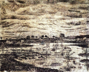 Post Impressionism Buy Original Art Vincent Van Gogh A Marsh